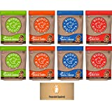 Cloud Star Buddy Biscuits, Soft & Chewy Dog Treats, Variety Pack - 4 Flavors (Total 8 Items)