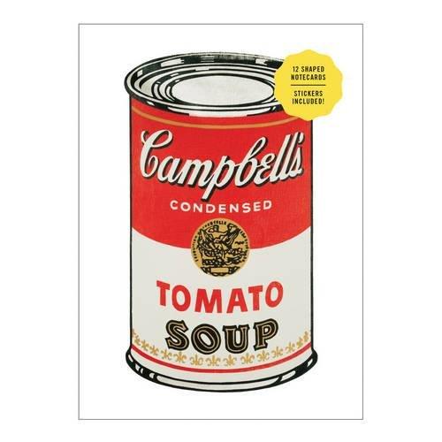 (Andy Warhol Shaped Portfolio Notecards)