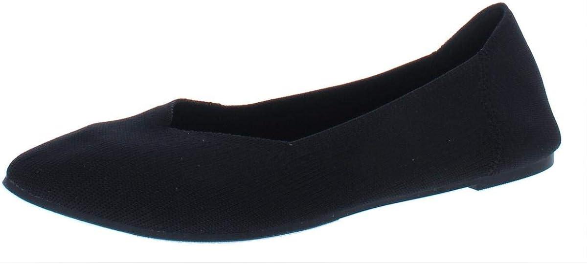 MIA Womens Kerri Slip On Flats Casual Flats Shoes,