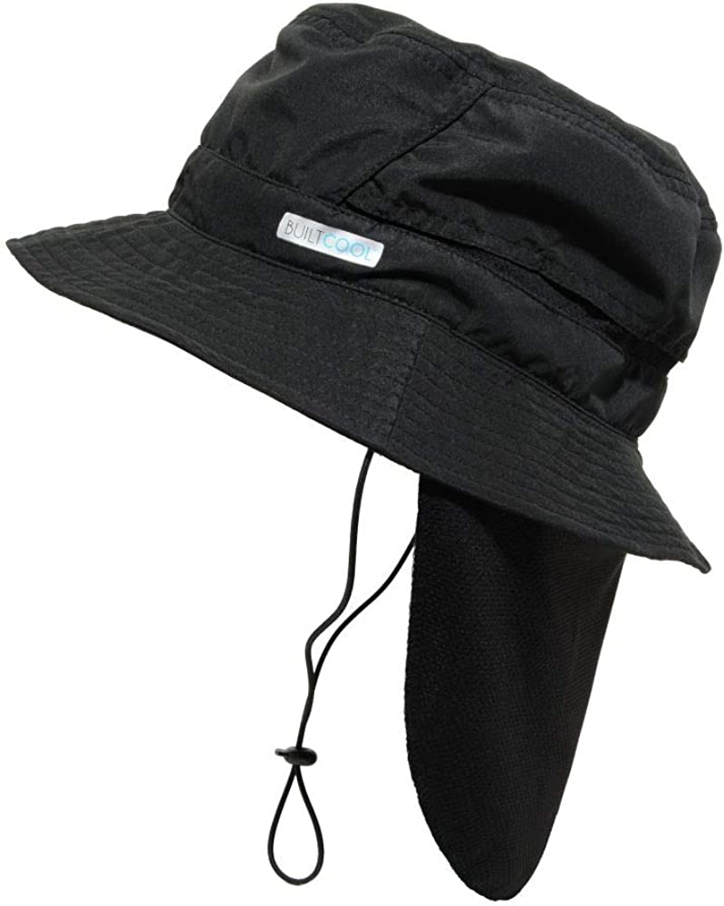 BUILTCOOL Adult Bucket Cap with Neck Shade – Boonie Hat, One Size