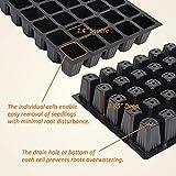 Gardzen 5-Set Garden Propagator Set, Seed Tray Kits