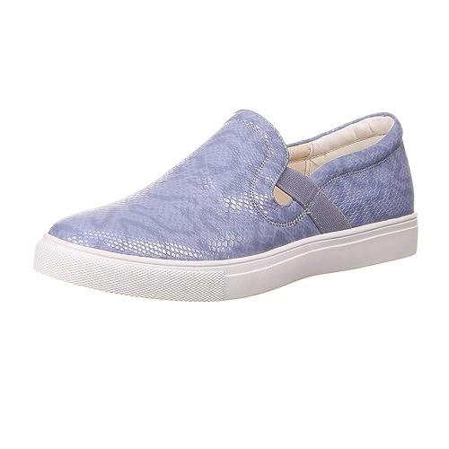 Ital-Design - Mocasines de Material Sintético para mujer, color Morado, talla 39: Amazon.es: Zapatos y complementos