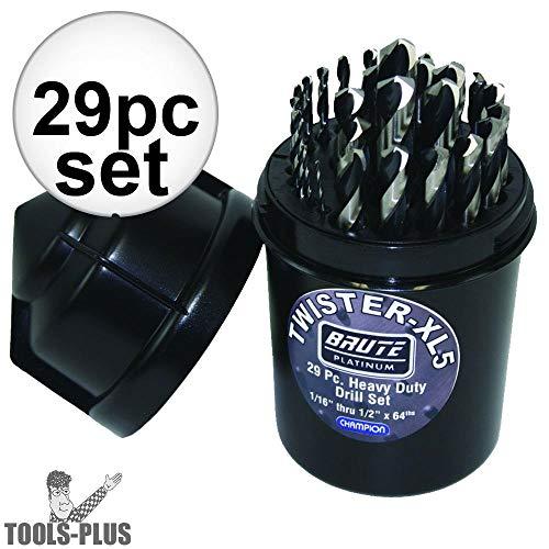 Champion Cutting Tool Brute Platinum Twister-XL5 29 Piece 1/16