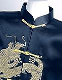 YOOJIA 2pcs Kids Boys Chinese Dragon Kung Fu Outfit