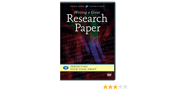 Learning english-writing a great research paper 10 dvds drug crime research papers