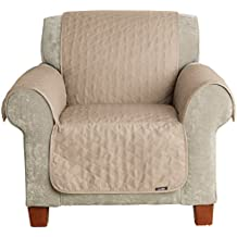Sure Fit Furniture Friend Pet Throw - Chair Slipcover  - Linen (SF37505)