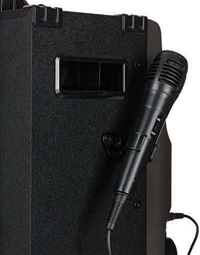 AUNA DisGo Box 360 - Lecteur Karaoké, Bluetooth, Port USB, Ecran TFT 7
