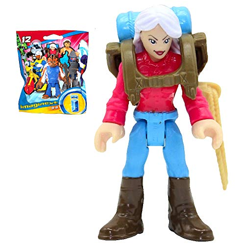 Imaginext Female Backpacker Blind Bag Series 12 Figure 2.5