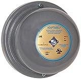 Edwards Signaling 340-4N5 4'' Vibrating Bell, Continuous Ringing, 98/88 db, Diecast Housing, 120V AC, Gray