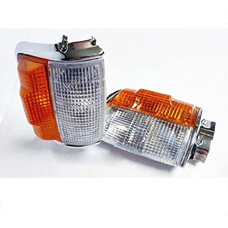 Amazon.com: 84 85 86 87 88 Toyota Hilux Mk2 Ln/rn/yn 2/4wd Pickup Corner Side Light Lamp Oem: Automotive