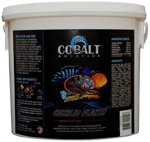 Cobalt Aquatics Cichlid Flakes, 2-Pound by Cobalt Aquatics