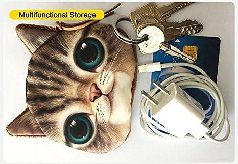 Amazon.com: Cartera creativa con animales en 3D, conveniente ...