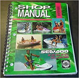 sea doo watercraft service manual
