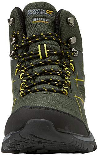 Mid Hautes gold Kota Dkkhaki De Regatta Randonnée Chaussures Homme fngX544q7