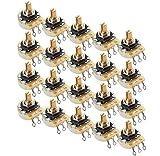 20 Bulk Pack Genuine CTS Tone / Volume 500K Split Shaft Pots for Electric Guitar