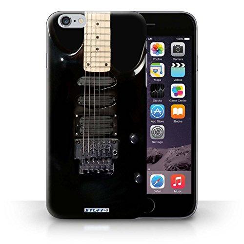 Hülle Case für iPhone 6+/Plus 5.5 / Schwarz Electirc Entwurf / Gitarre Collection