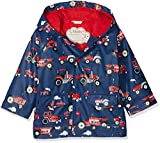 Hatley Boys' Little Printed Raincoats, Red Farm Tractors, 8 Years