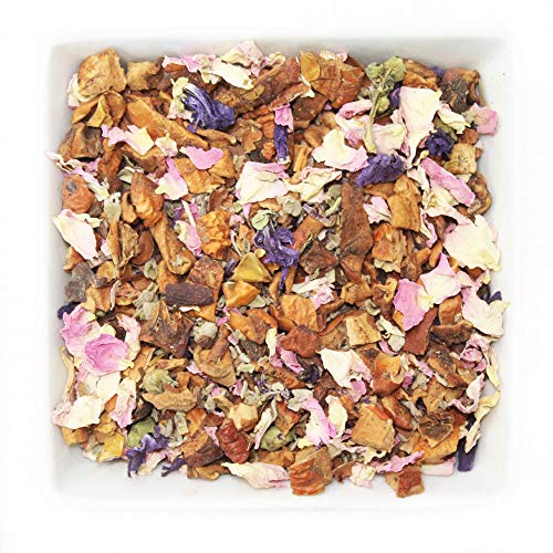 (Tealyra - Cocoa Sage - Relaxing and Calming Herbal Loose Leaf Tea - Perfect Bed Time Blend - Caffeine Free - 112g)