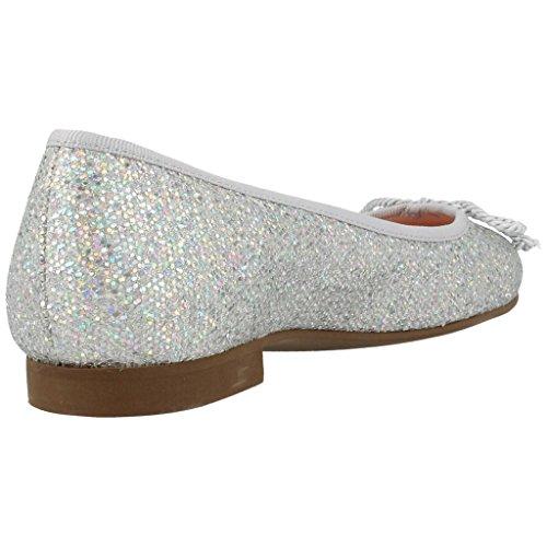 Kvinner Sko Med Modell Sølv Sko Sølv Laget Kjærlighet Ballerina Merke Farge 9000 wqZqf6x