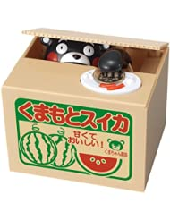 日亚:凑单品:Kumamon 熊本熊 电动储钱罐 1737日元(约99.88元) 萌萌的kumamon储钱罐再到好价~