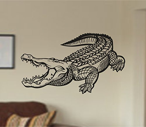 - Aligator Gator Version 103 Dinosaur Vinyl Wall Decal Sticker Zoo Modern Wall Mural Art Animal Dino