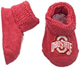Two Feet Ahead NCAA Ohio State Buckeyes Infant Gift Box Booties, One Size, Red
