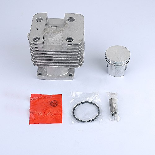 HIPA 40mm Cylinder Piston Kit Assembly for STIHL FS120 FS200 FS200R FS250 FS250R String Trimmer Brush Cutter Piston Ring Clips Wrist Pin Needle Bearing Gasket