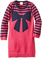 Egg by Susan Lazar Little Girls' Stripe and Bow Intarsia Knit Dress