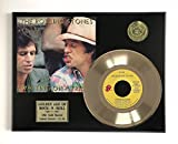 #4: Rolling Stones - Waiting On A Friend LTD EDITION GOLD 45 RECORD DISPLAY