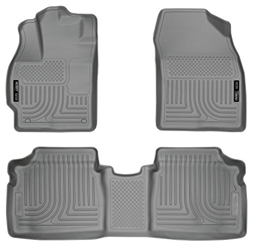 Husky Liners Front & 2nd Seat Floor Liners Fits 12-15 Prius Two/Three/Four/Five (Liner Prius Toyota Cargo)