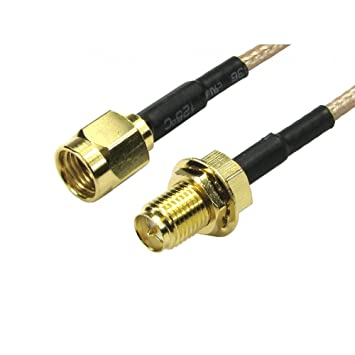 NEWlink - Cable alargador inalámbrico para antena WiFi – Polaridad inversa SMA