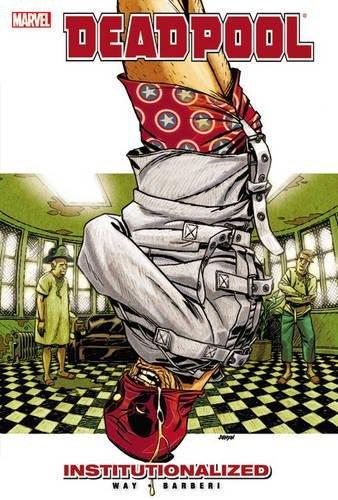 Deadpool Institutionalized Marvel Paperback product image
