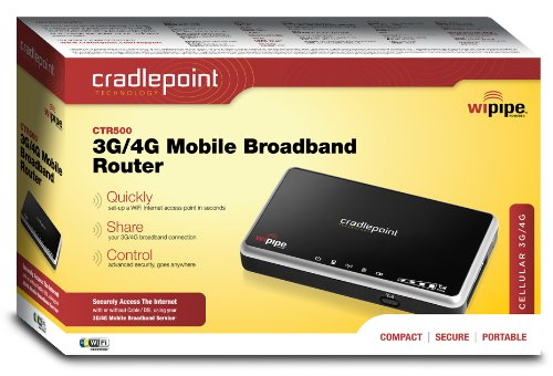Cradlepoint Travel Router CTR-500 by Cradlepoint