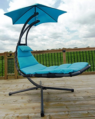 Eclipse Collection The All Weather Dream Chair - True Turquoise New by Eclipse Curtains