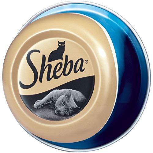Sheba Feine Filets – Getreidefreies Nassfutter für Katzen als besonderer Snack – Saftige Filets – 24 x 80g Katzennahrung…