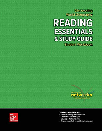 Discovering World Geography, Reading Essentials and Study Guide, Student Workbook (GEOGRAPHY: WORLD & ITS PEOPLE)