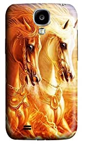 3D Horse Polycarbonate Hard Back Case Cover for Samsung Galaxy S4 SIV I9500
