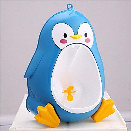 ブルーbaby-boys-penguin-toilet-potty-training-kids-toddler-urinal-bathroom-pee-trainer   B06XXPK14J