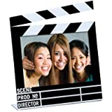 "Acrylic Movie Clapboard Photo Frame (7"" x 5"")"