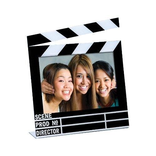 "Acrylic Movie Clapboard Photo Frame (7"" x 5"")"
