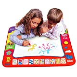 Sunfei Aqua Doodle Children''s Drawing Toys Mat Magic Pen Educational Toy 1 Mat+ 2 Wate