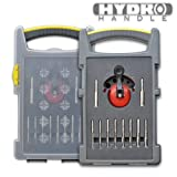 10pc Hydro Handle Tile, Stone and Hard Material Diamond Drill Bit Set 6mm - 1/4 Inch to 12mm - 1/2 Inch by HydroHandle