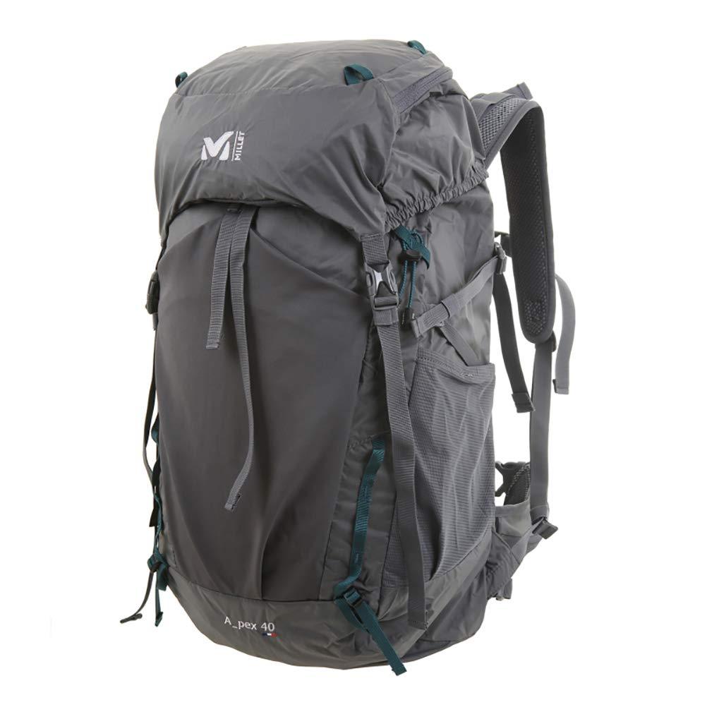 (ミレー) MILLET リュックアペックス40(Apex 40) (並行輸入品) One Size グレー B07P7P6MR6