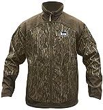 Banded Full Zip Mid Layer Fleece Jacket, Color: Bottomland, Size: 2xl (B1010008-