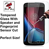 Shop Buzz Tempered Glass Screen Guard for Motorola G4 Plus (Designed for Moto G4 +)