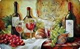 Premium Comfort Kitchen Mats (2-Pack) (Wine Table)