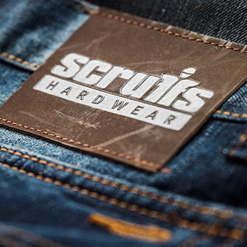 Scruffs Pantalon Denim Bleu Homme Trade rOBwqEr