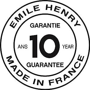 """Emile Henry HR Modern Classics Large Rectangular Baker, 13 x 9"""", White"""