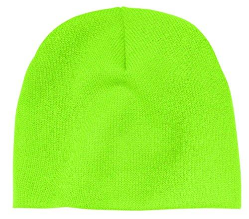 Port & Company Men's Beanie Cap OSFA Neon Green
