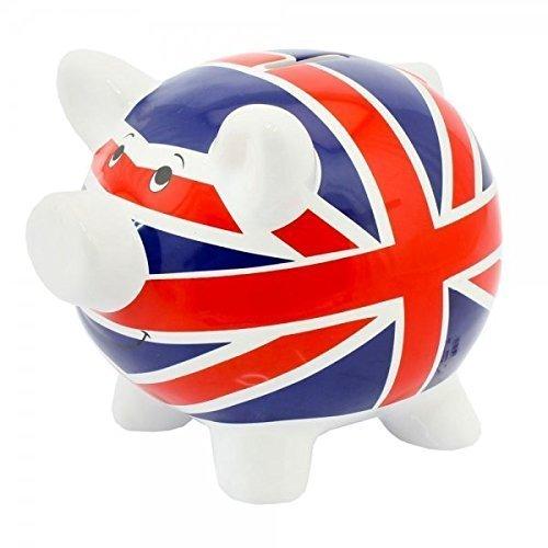Money Pig - LEONARDO Piggy Bank/Money Pig ~ Savings ~ UNION JACK